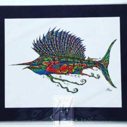 Cool Sailfish Print