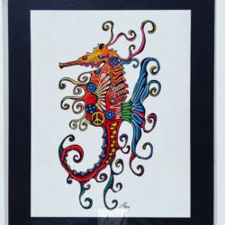 Pretty Seahorse Print