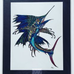 Sailfish Print