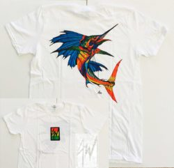 Tshirt Colorful Sailfish